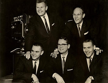 The Gospel Harmony Boys, 1954