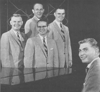 The Gospel Harmony Boys, 1957